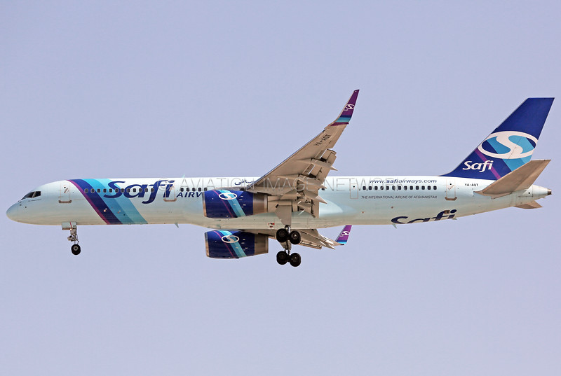 YA-AQT | Boeing 757-2K2 | Safi Airways