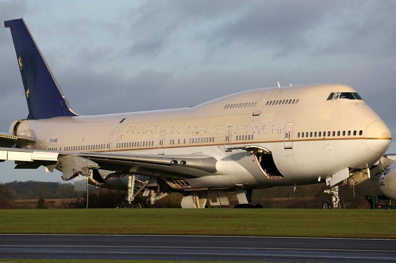 TF-AAE   Boeing 747-4H6   Saudi Arabian (Air Atlanta Icelandic)