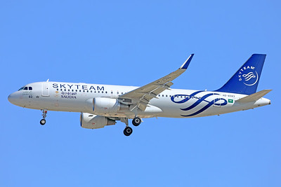 HZ-AS83 | Airbus A320-214 | Saudia