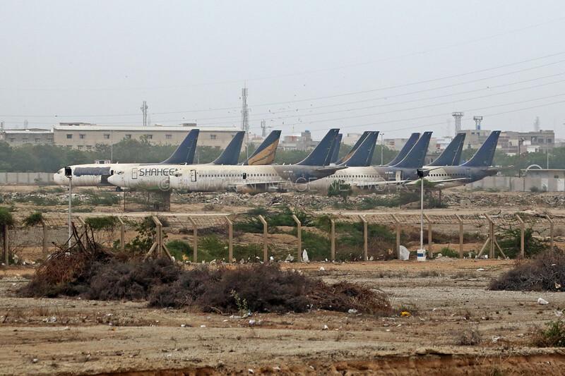 AP-BIQ | AP-BHC | Boeing 737-258 | Boeing 737-291 | Shaheen Air