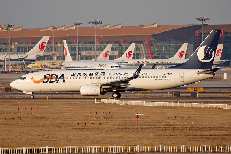 B-1988 | Boeing 737-89L | Shandong Airlines