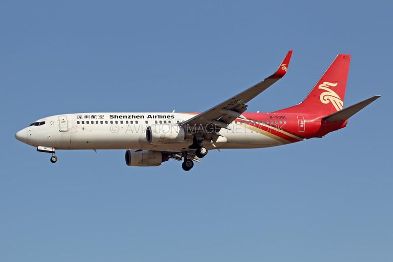 B-5381   Boeing 737-87L   Shenzhen Airlines