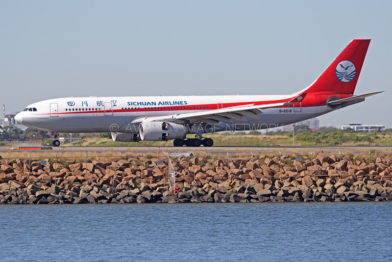 B-6518 | Airbus A330-243 | Sichuan Airlines