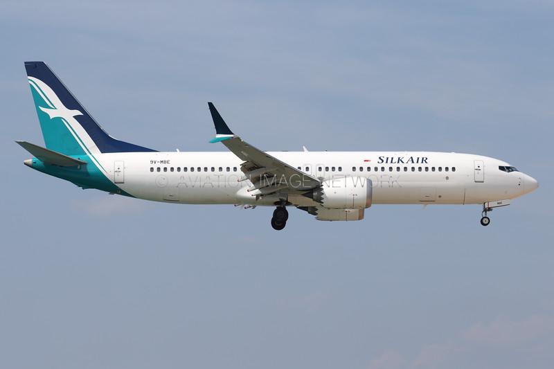 9V-MBE | Boeing 737 Max 8 | SilkAir