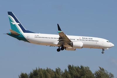9V-MBA   Boeing 737 Max 8   SilkAir