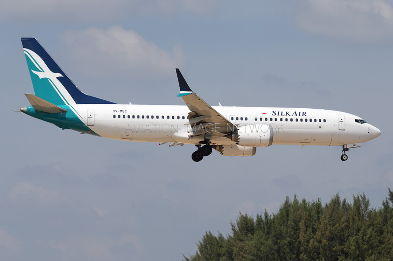 9V-MBC | Boeing 737 Max 8 | SilkAir