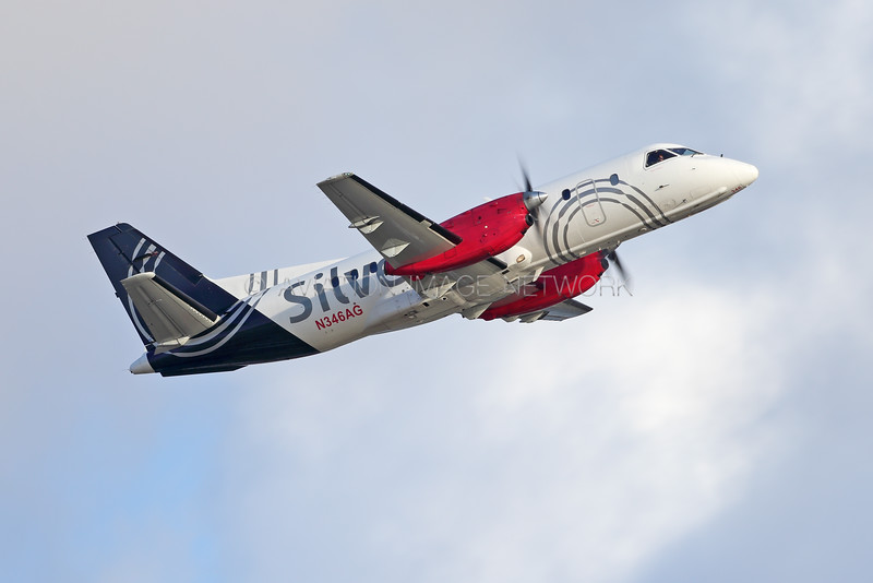N346AG | Saab 340B | Silver Airways