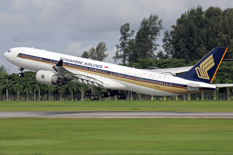 9V-SGA | Airbus A340-541 | Singapore Airlines