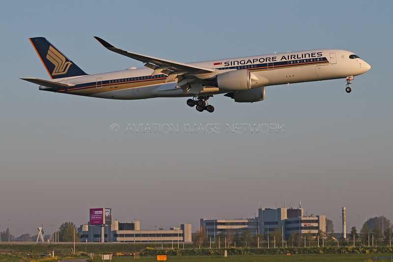 9V-SMH | Airbus A350-941 | Singapore Airlines