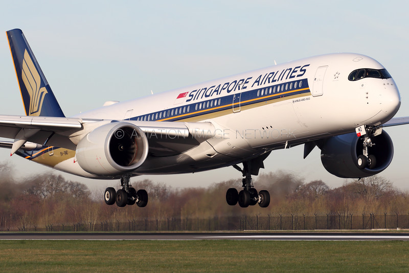 9V-SMD | Airbus A350-941 | Singapore Airlines