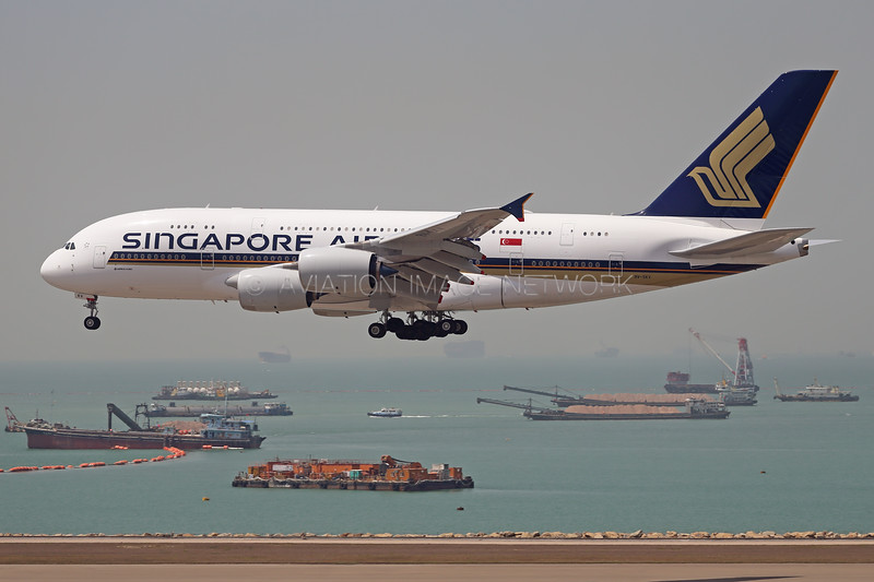 9V-SKV   Airbus A380-841   Singapore Airlines