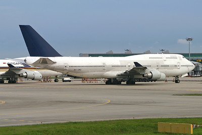 9V-SMC | Boeing 747-412 | Singapore Airlines