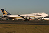 9V-SPN | Boeing 747-412 | Singapore Airlines