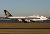 9V-SMW | Boeing 747-412 | Singapore Airlines