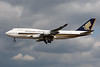 9V-SPJ | Boeing 747-412 | Singapore Airlines