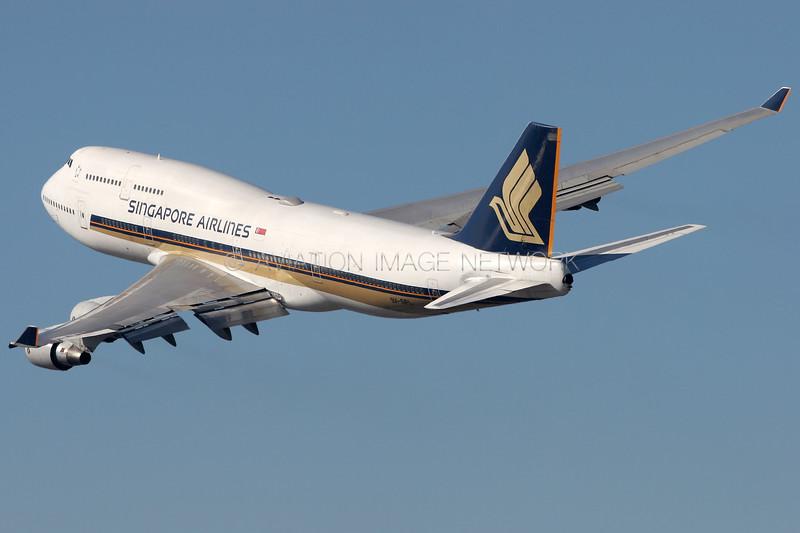 9V-SPL | Boeing 747-412 | Singapore Airlines