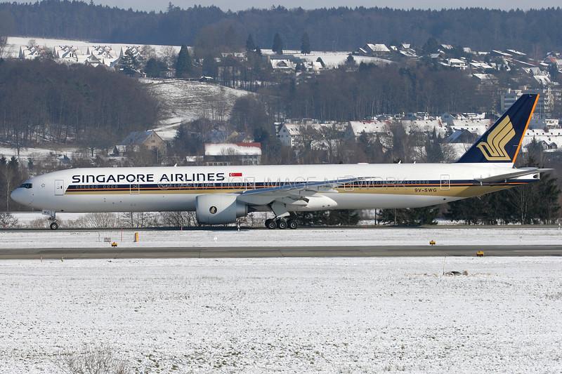 9V-SWG | Boeing 777-312/ER | Singapore Airlines
