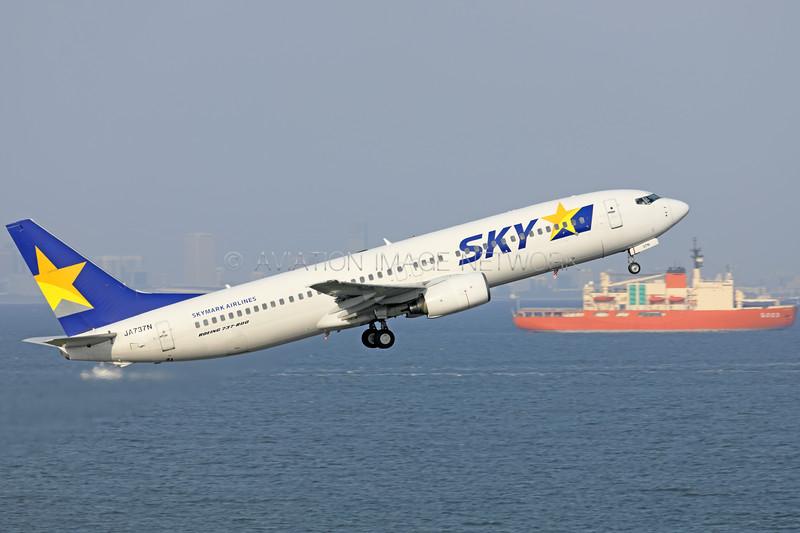 JA737N   Boeing 737-8HX   Skymark Airlines