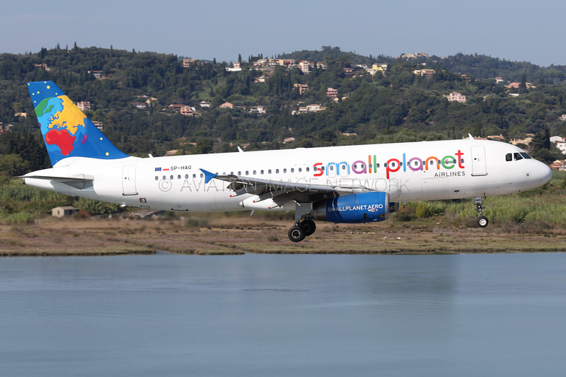 SP-HAG | Airbus A320-232 | Small Planet Airlines