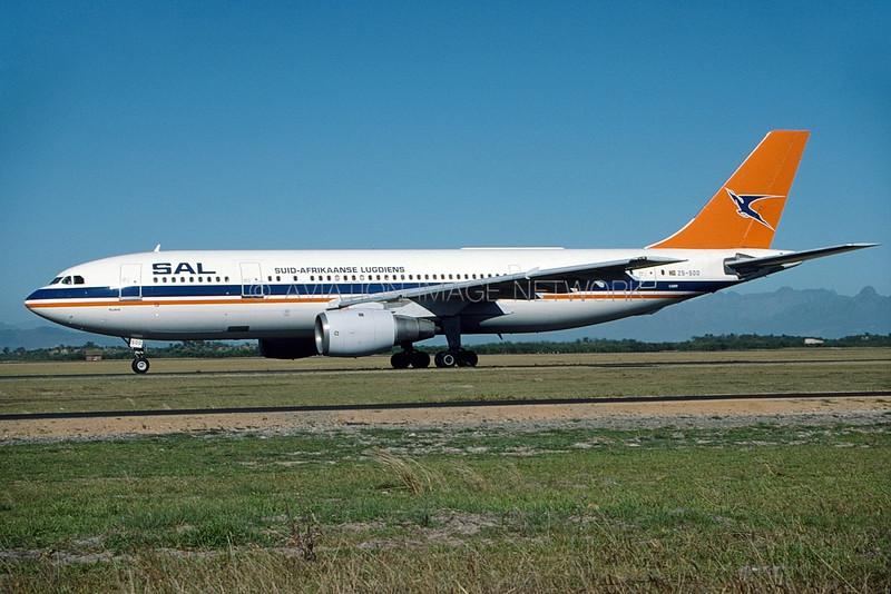 ZS-SDD | Airbus A300B2K-3C | South African Airways