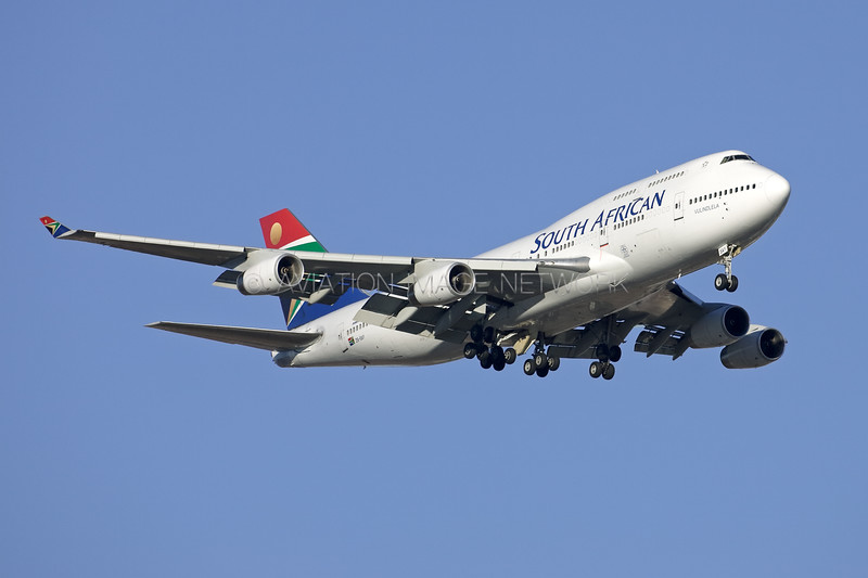 ZS-SAY | Boeing 747-444 | South African Airways
