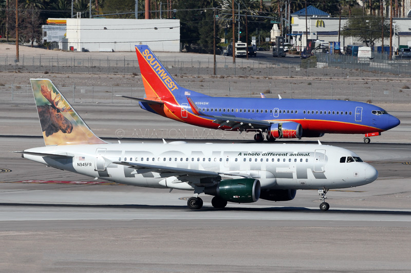 N945FR   N394SW   Airbus A319-112   Boeing 737-3H4   Frontier Airlines    Southwest Airlines