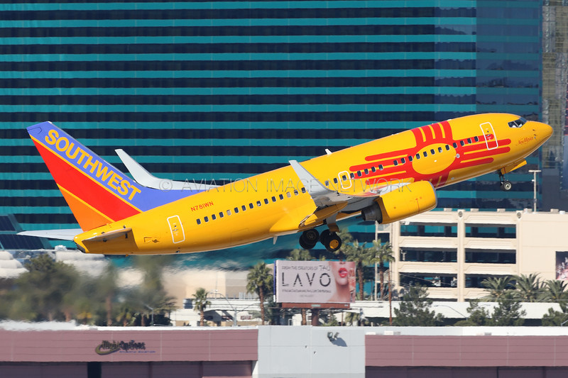 N781WN | Boeing 737-7H4 | Southwest Airlines