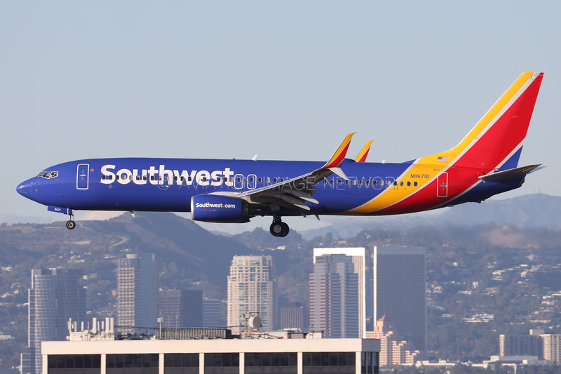 N8671D | Boeing 737-8H4 | Southwest Airlines