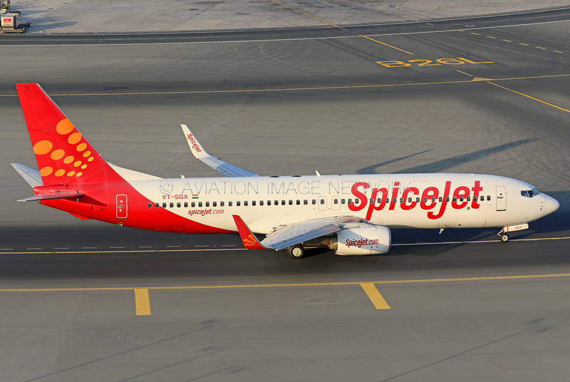 VT-SGX | Boeing 737-8GJ | SpiceJet