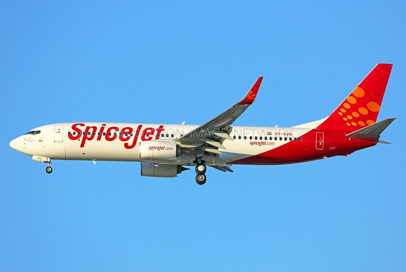 VT-SZG | Boeing 737-86N | SpiceJet