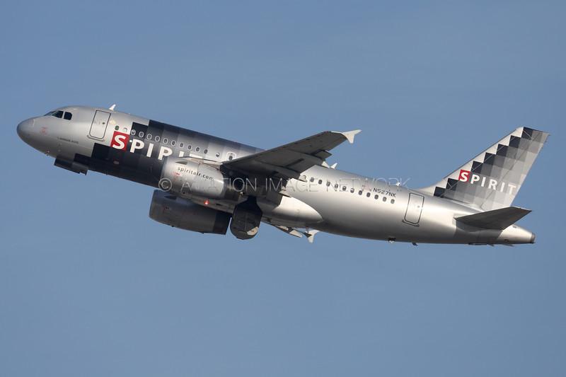 N527NK   Airbus A319-132   Spirit Airlines