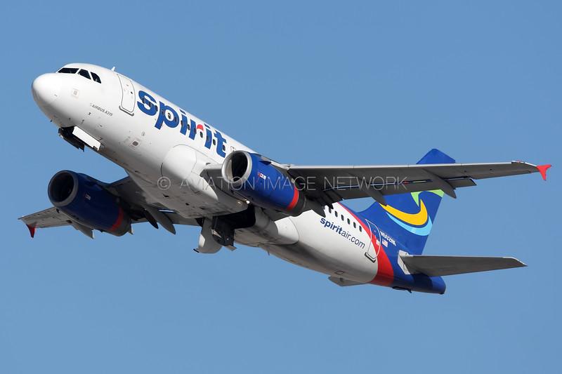 N502NK | Airbus A319-132 | Spirit Airlines
