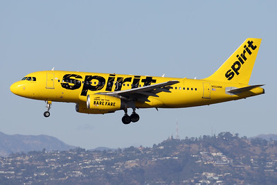 N504NK | Airbus A319-132 | Spirit Airlines