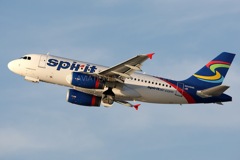 N505NK | Airbus A319-132 | Spirit Airlines