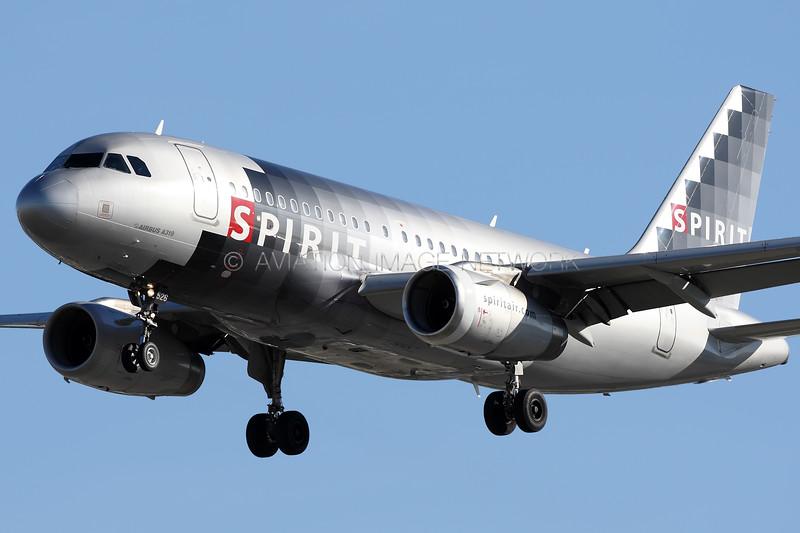 N526NK | Airbus A319-132 | Spirit Airlines