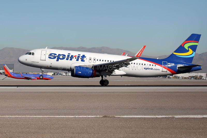 N621NK | Airbus A320-232 | Spirit Airlines