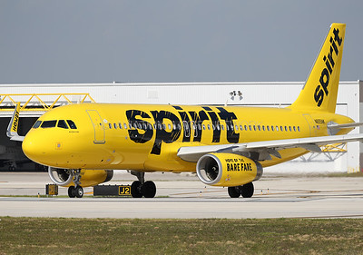 N655NK | Airbus A320-232 | Spirit Airlines