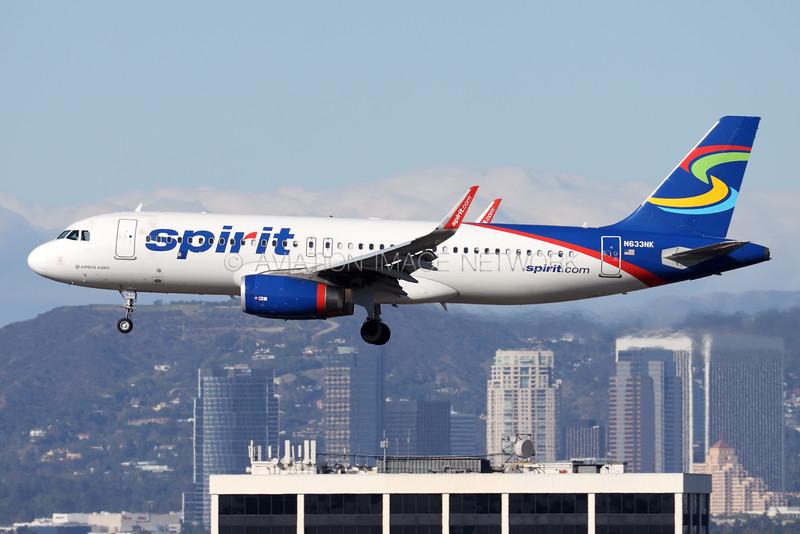 N633NK | Airbus A320-232 | Spirit Airlines