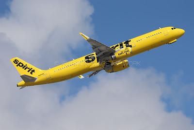 N680NK | Airbus A321-231 | Spirit Airlines