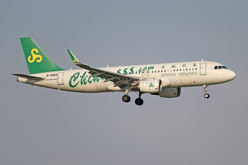 B-9965 | Airbus A320-214 | Spring Airlines