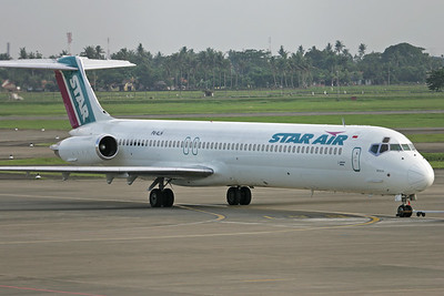 PK-ALH | McDonnell Douglas MD-83 | Star Air (Indonesia)