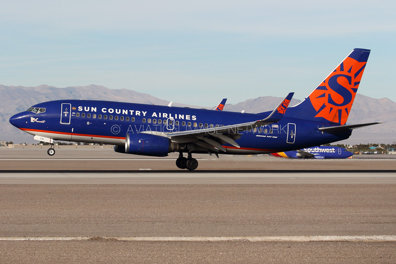 N711SY | Boeing 737-73V | Sun Country