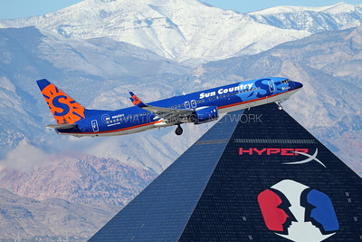 N809SY | Boeing 737-8Q8 | Sun Country Airlines