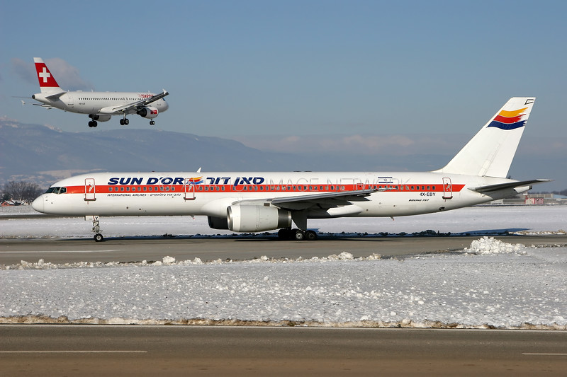 4X-EBY | Boeing 757-27B | Sun D'Or International Airlines