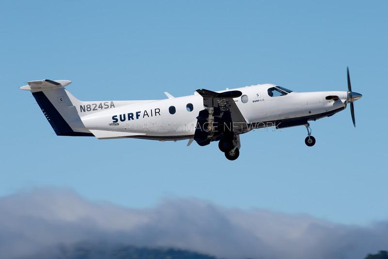 N824SA | Pilatus PC-12-47E | Surf Air