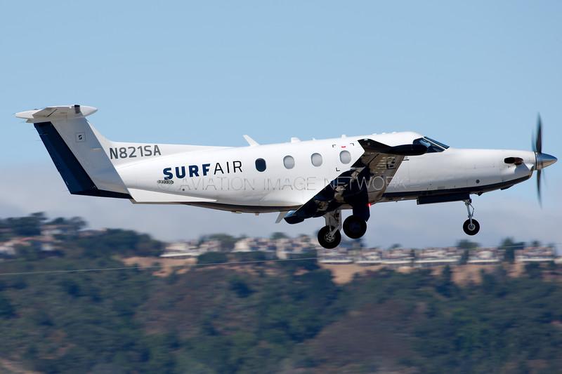 N821SA | Pilatus PC-12-47E | Surf Air
