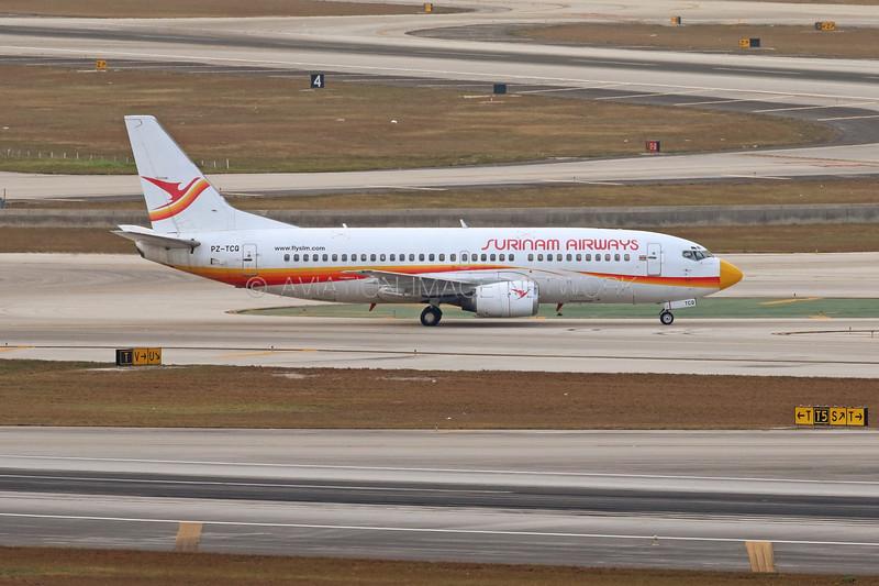 PZ-TCQ | Boeing 737-3Q8 | Surinam Airways