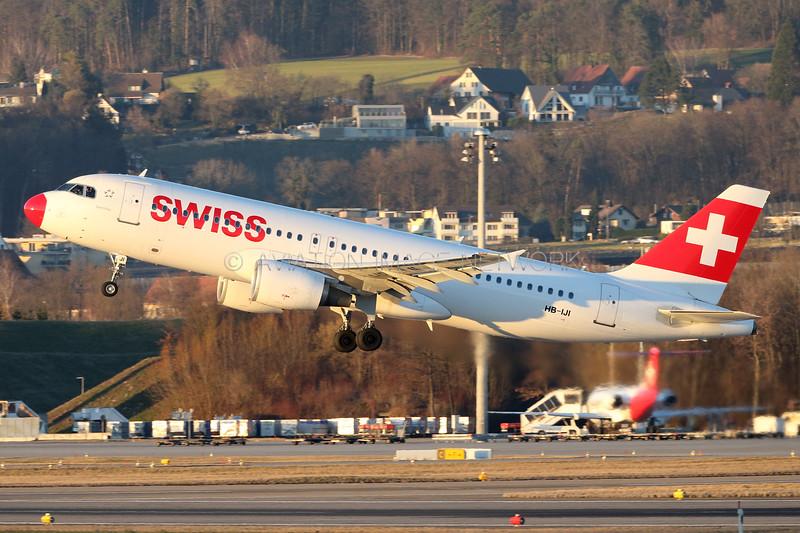HB-IJI | Airbus A320-214 | Swiss International Air Lines