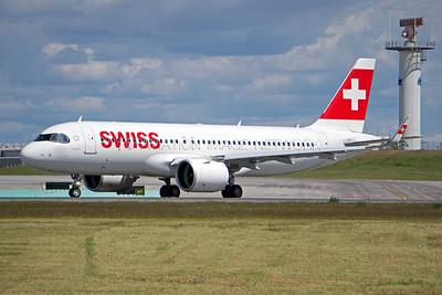 HB-JDA | Airbus A320-271N | Swiss International Air Lines