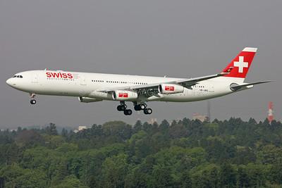 HB-JMG | Airbus A340-313 | Swiss International Air Lines
